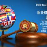 Public Administration & International Law