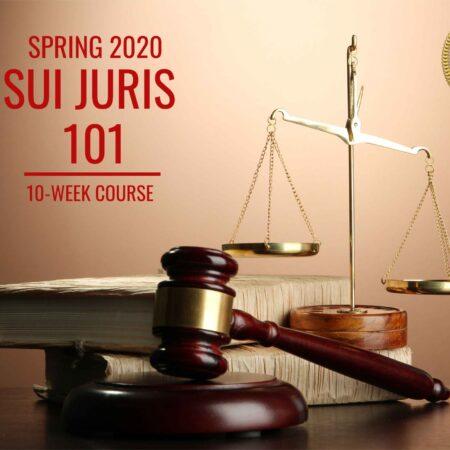 Sui Juris 101