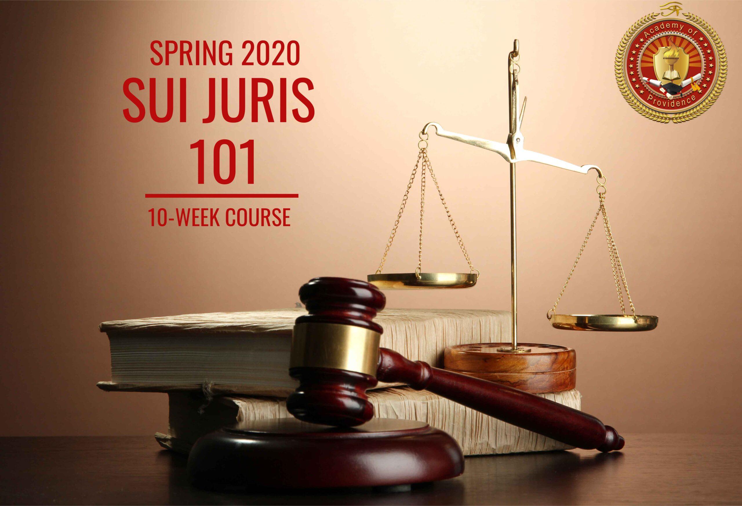 SUI-JURIS-101